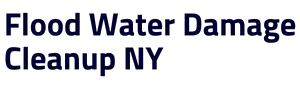 Flood Water Damage Cleanup NY